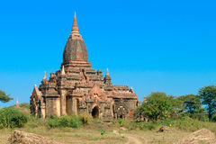 Stupas and pagodas of Bagan ancient. Stock Images