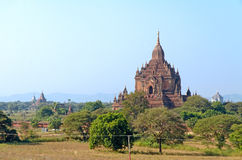 Stupas and pagodas of Bagan ancient. Royalty Free Stock Image