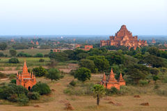 Stupas and pagodas of Bagan ancient. Myanmar Stock Photos