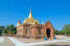Stupas and pagodas of Bagan ancient. Myanmar Royalty Free Stock Photos