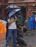 Stupas Photograpers Arkivbilder