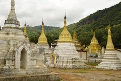 Stupas Pindaya Obraz Royalty Free