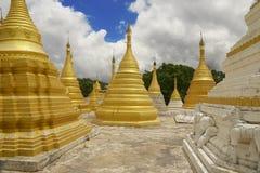 Stupas Pindaya Fotografia Stock