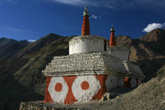 Stupas in Temisgam Royalty Free Stock Photos