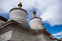 Stupas Tibet Stock Image