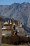 Stupas van Budhist Stock Fotografie