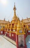 Stupas votivi di Popa del supporto Immagini Stock Libere da Diritti