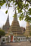 Stupas of Wat Pho Royalty Free Stock Photo