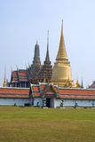 Stupas of Wat Phra Kaew Stock Photography