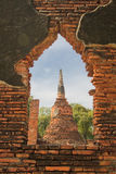 Stupas of Wat Si Sanphet, Ayutthaya, Thailand Royalty Free Stock Photography
