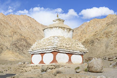 Stupas wokoło Leh Ladakh, India Obraz Stock