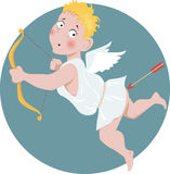 Stupid Cupid Royalty Free Stock Photography