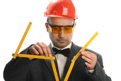 Stupid engineer Royalty Free Stock Photos
