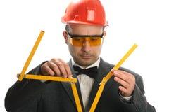 Stupid engineer royalty free stock photos