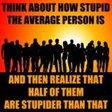 Stupid people Stock Photos