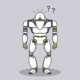 Stupid Question Robot Royalty Free Stock Photography