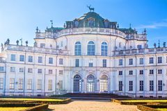 Stupinigi hunting palace, Turin, Piedmont, Italy Royalty Free Stock Photos