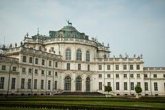 Stupinigi palace near Turin Royalty Free Stock Images