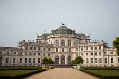 Stupinigi palace near Turin Royalty Free Stock Photography