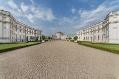 Stupinigi royal hunting palace Stock Images