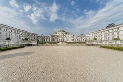 Stupinigi royal hunting palace Stock Photo