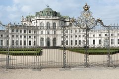 Stupinigi royal hunting palace Royalty Free Stock Photo