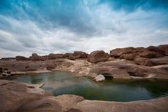 Stupore della roccia Fotografie Stock Libere da Diritti