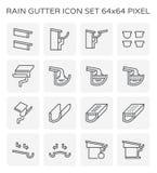 Stuprännasymbol royaltyfri illustrationer