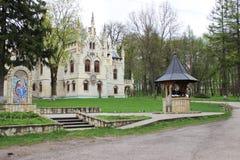 Sturdza castle Miclauseni Iasi Stock Images