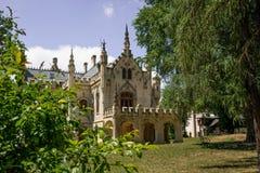 Sturdzakasteel in Miclauseni Roemenië Royalty-vrije Stock Afbeelding