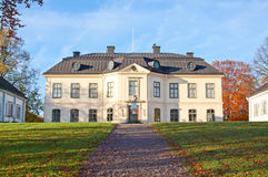 Sturehov  castle in Sweden. Royalty Free Stock Photography