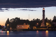 Sturgeon Bay Ship Canal Lighthouse Stock Images