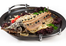 Sturgeon cooked entirely Stock Images