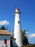 Sturgeon point light house. Light house in northern michigan Royalty Free Stock Photography