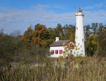 Sturgeon Point Lighthouse Stock Photography