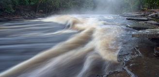 Sturgeon River Stock Image