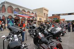 Sturgis motorcycle Rally. royalty free stock image