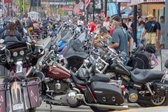 Sturgis, Południowy Dakota motocyklu wiec fotografia royalty free
