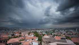 Sturm über Ankara Lizenzfreies Stockfoto