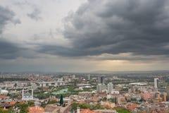 Sturm über Ankara Lizenzfreie Stockbilder