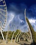 Sturm über Brisbane Lizenzfreie Stockfotografie