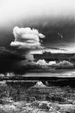Sturm über dem Grand Canyon stockfotos