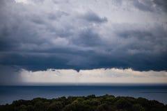 Sturm über Kefalonia, Griechenland Lizenzfreie Stockfotos