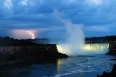 Sturm über Niagara Stockfoto