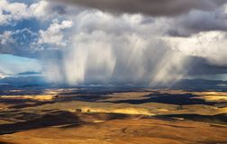Sturm über Palouse, Washington Stockfoto