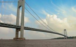 Sturm über Verrazzano-Brücke Stockfotografie