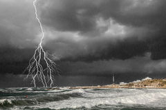 Sturm Stockfoto