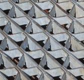 Sturm-Ablass-Auszugs-Muster Stockfotos