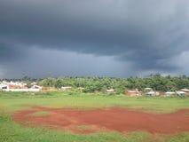 Sturm auf dem Horizont Stockfoto