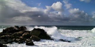 Sturm auf dem Meer Stockfotografie